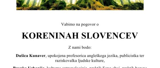 korenine slovencev
